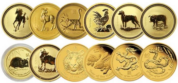 Australian Lunar Gold Coins