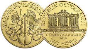 Vienna Philharmonic Gold Coins