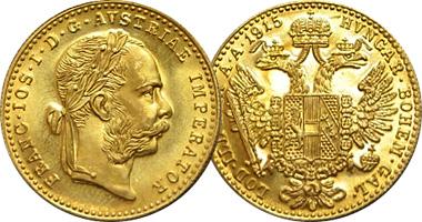 Austrian Gold Ducats