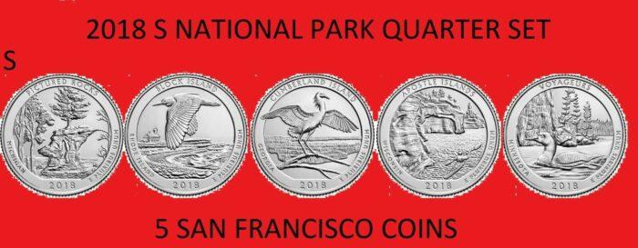 America the Beautiful Silver Quarters