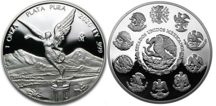 Mexican Libertad Silver Coins